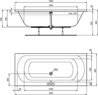 IS_Multisuite_Multiproduct_PrListDrw_NN_Simplicity;W0046;Ulysse;P0048;DUO;BATHTUB180x80;Duo